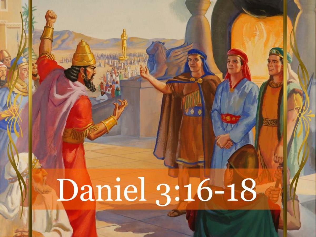 Simple Lessons on Faith From the Book of Daniel Chapter 3:16-18