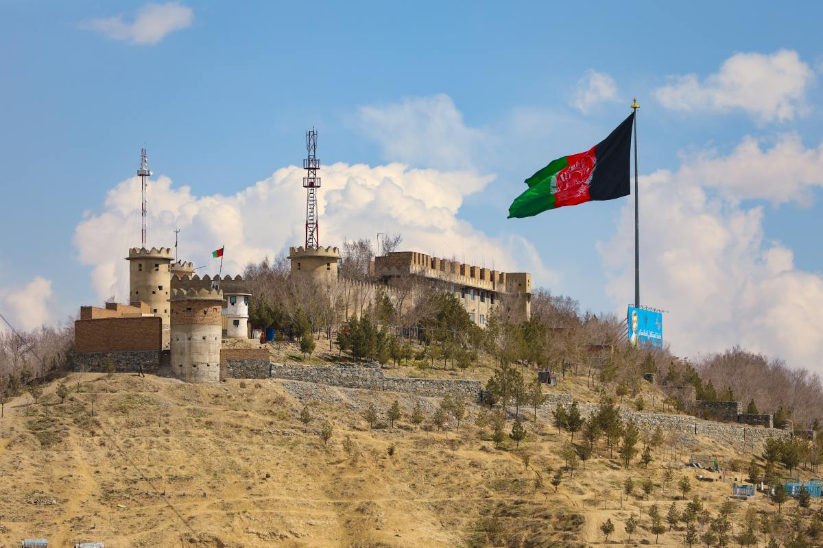A Fortified Building in Kabul