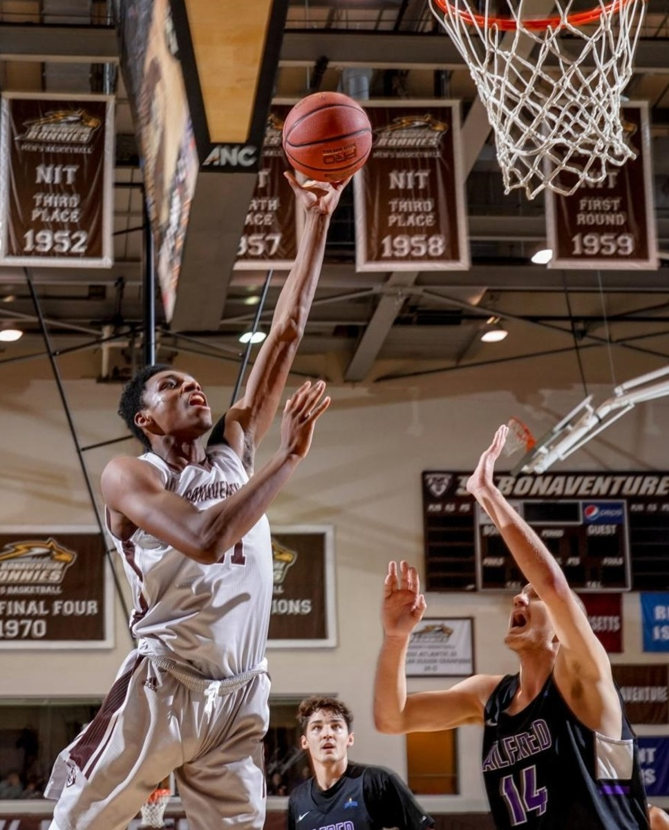 Osun Osinniyi gives the Bonnies one of the best returning big men in the country.