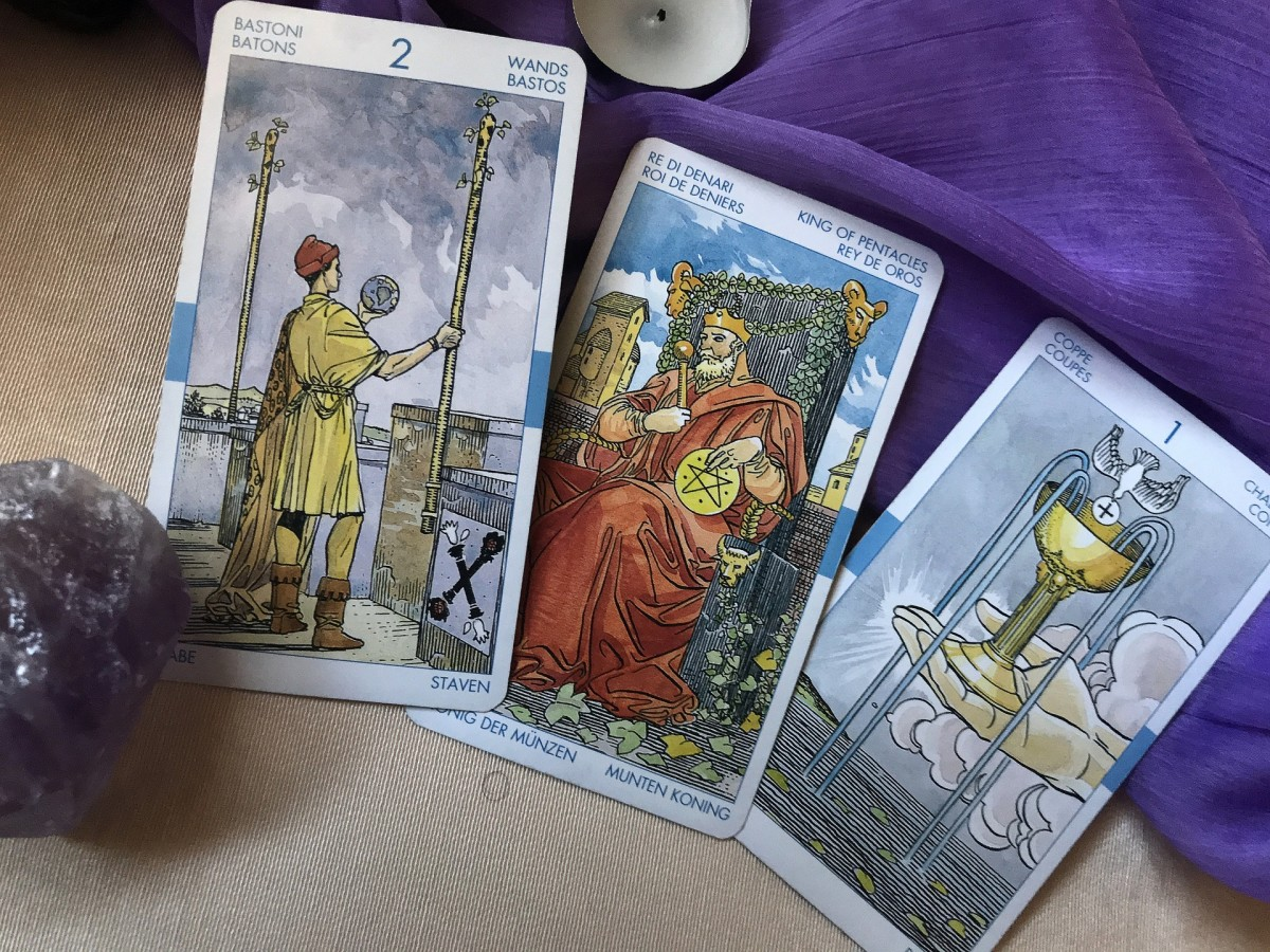 The Ace of Cups is the first card of the suit representing water and emotions. This suit deals with relationships, romance, social connections, charisma, and love. These are important parts of life that take maturity.