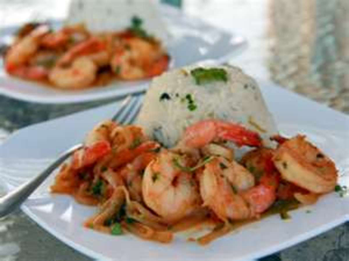 Tequila Lime Shrimp - Tequila Shrimp with Lime