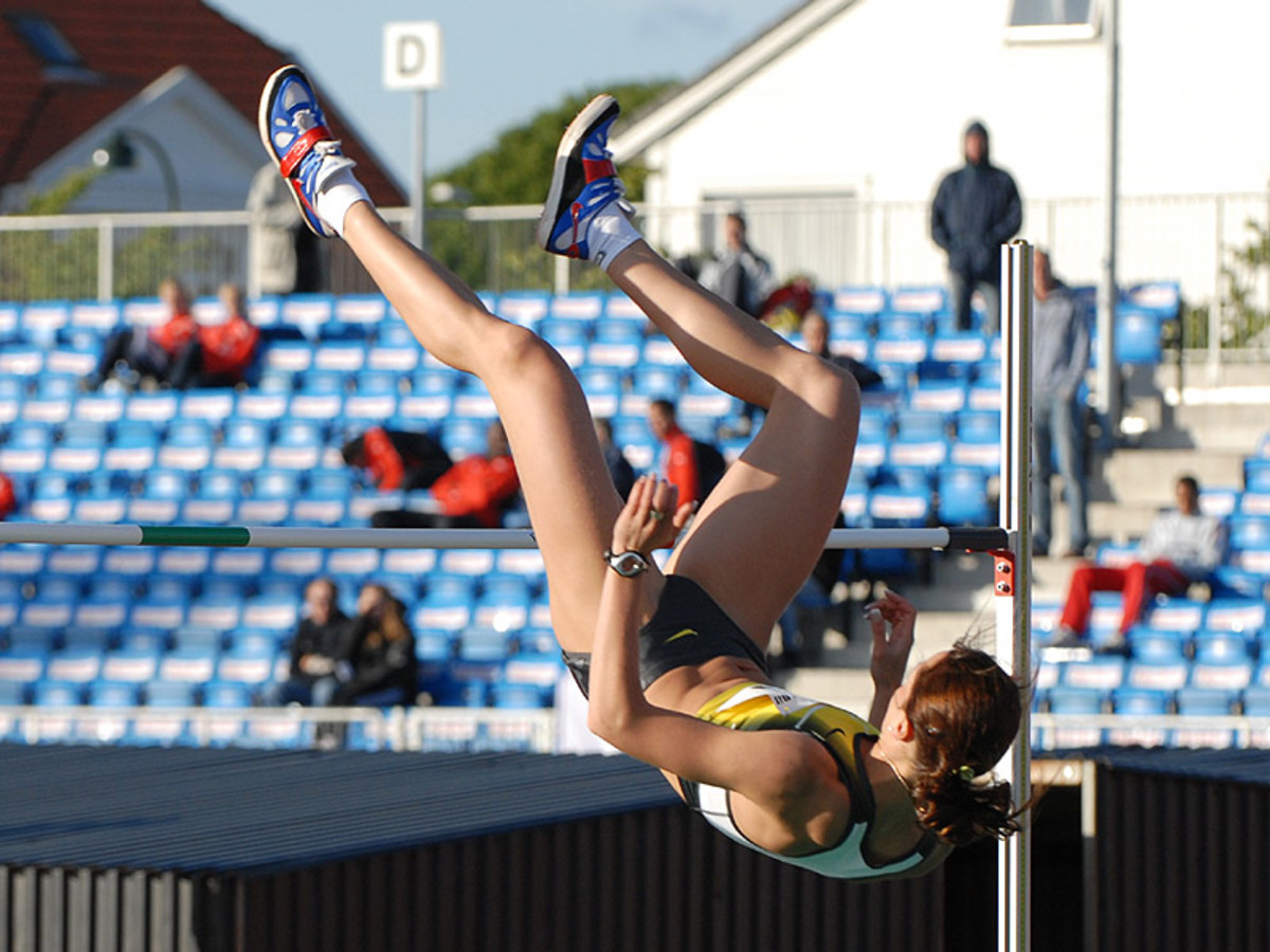 You too can do the Fosbury flop over the bar of your writing goals