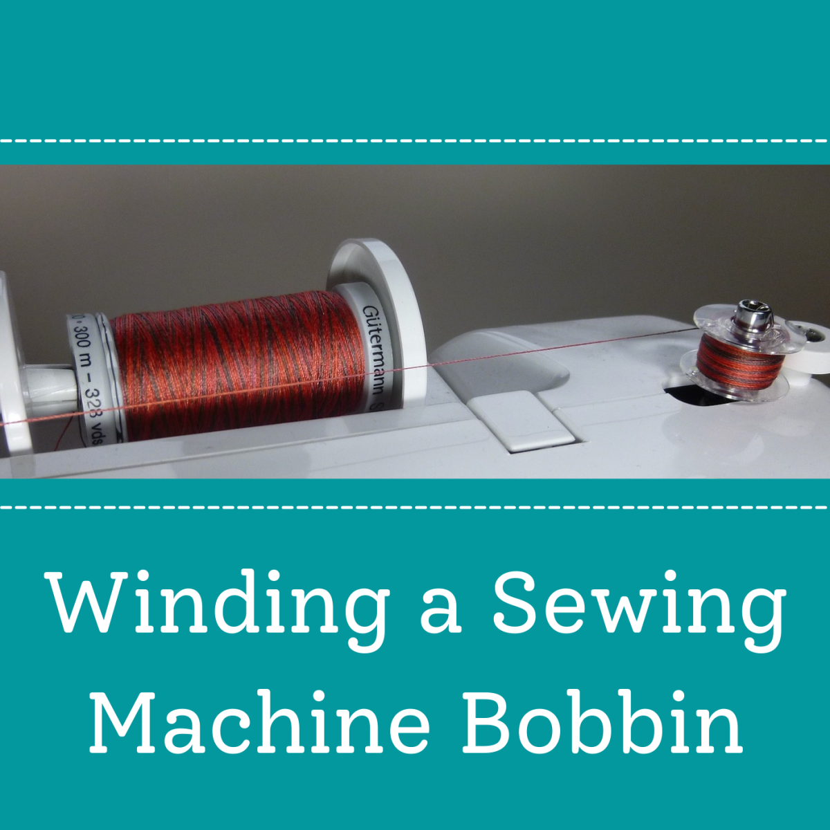 Winding the bobbin on your sewing machine is easy—just follow these five steps!