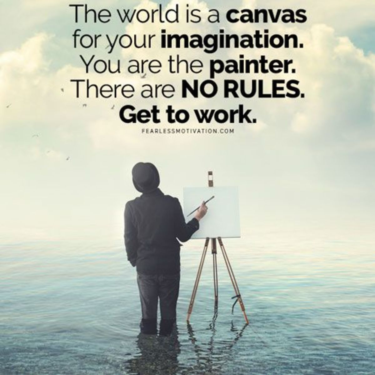 You are Painter of your Future.