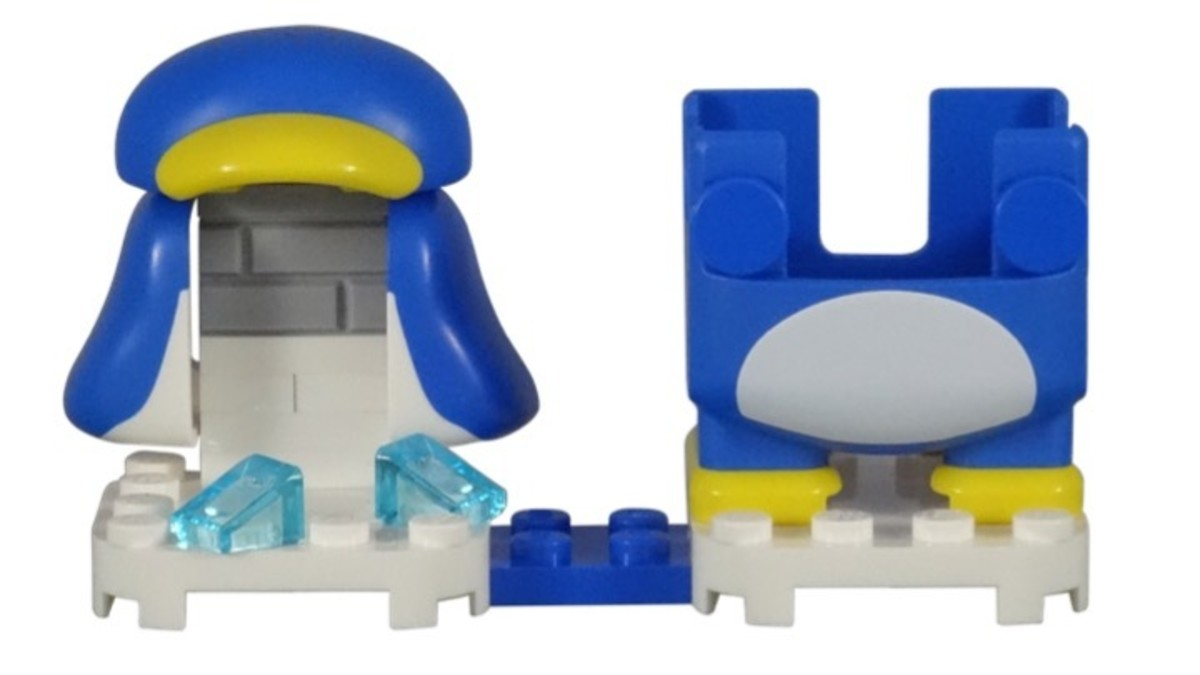LEGO Penguin Mario Power-Up Pack 71384 Completely Assembled