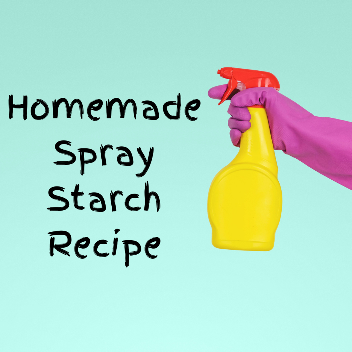 Learn how to easily make your own inexpensive spray starch!