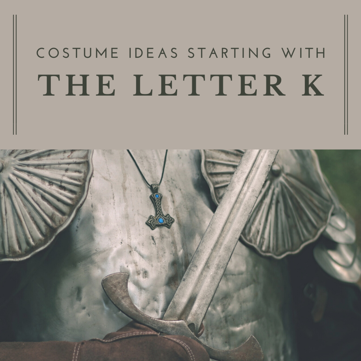 Hosting or attending a themed party where guests need to dress up as a person or thing that starts with the letter K? Here are some ideas to inspire you!