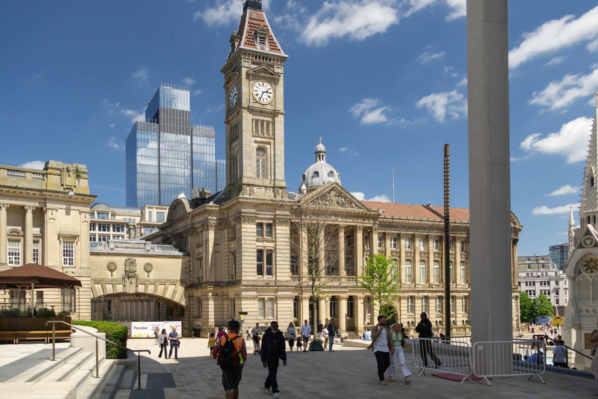 The Redevelopment of Birmingham City Centre