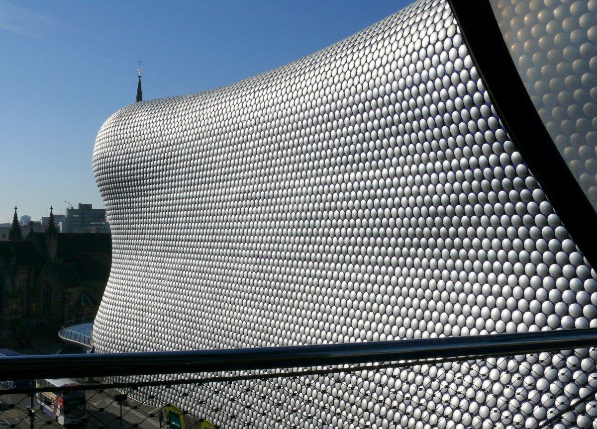 The Selfridges building in Birmingham