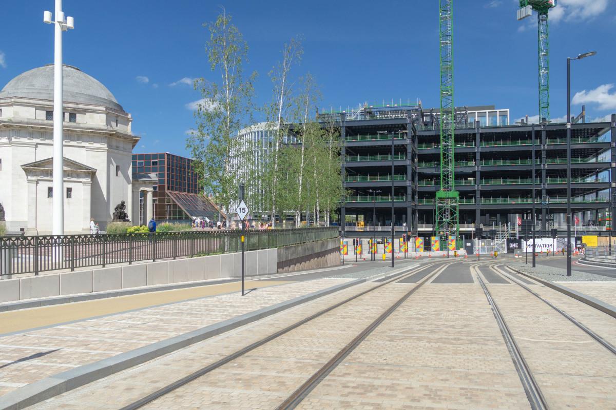 New Metro line through Birmingham City Centre