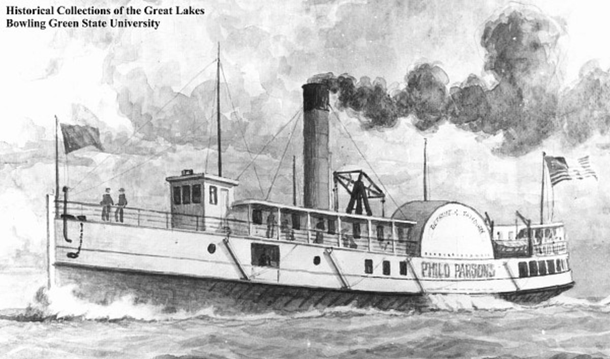 Steamer Philo Parsons