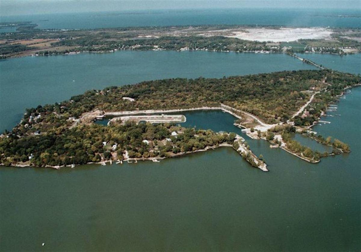 Johnson's Island, a Confederate Civil War Pow Camp