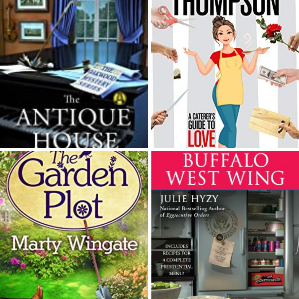 Just a few of my favorite cozy mysteries