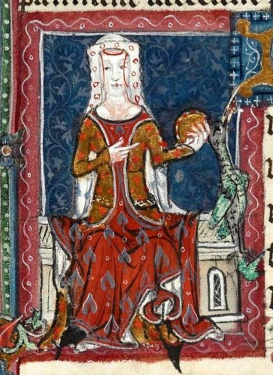 Edward's wife, Joan of Kent.