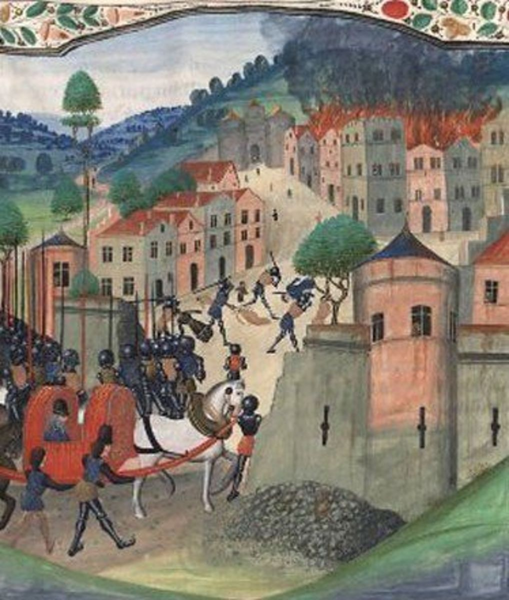 The Sack of Limoges, arguably the event that ruined Edward the Black Prince's reputation.