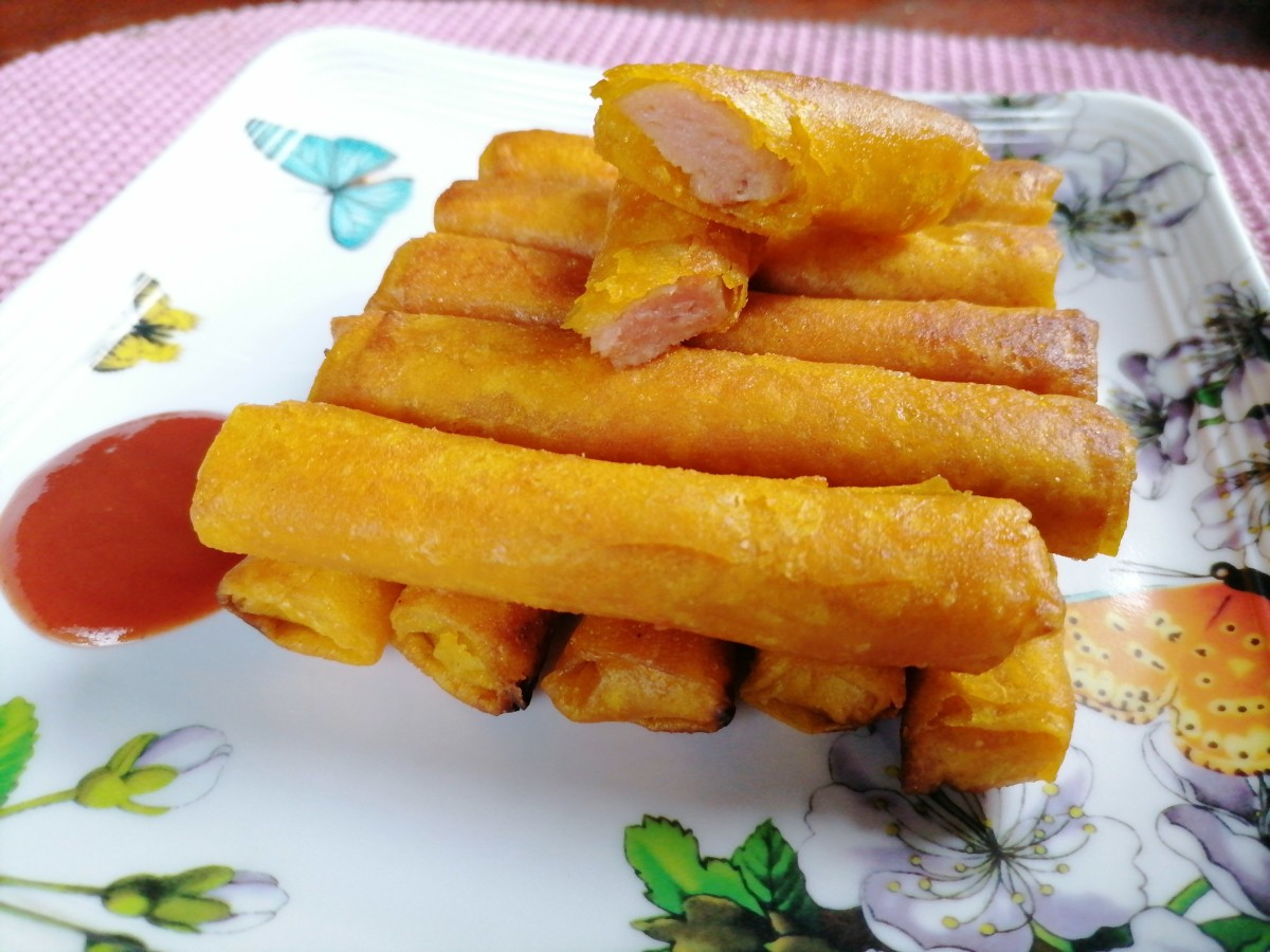 two-ingredient-spam-lumpia