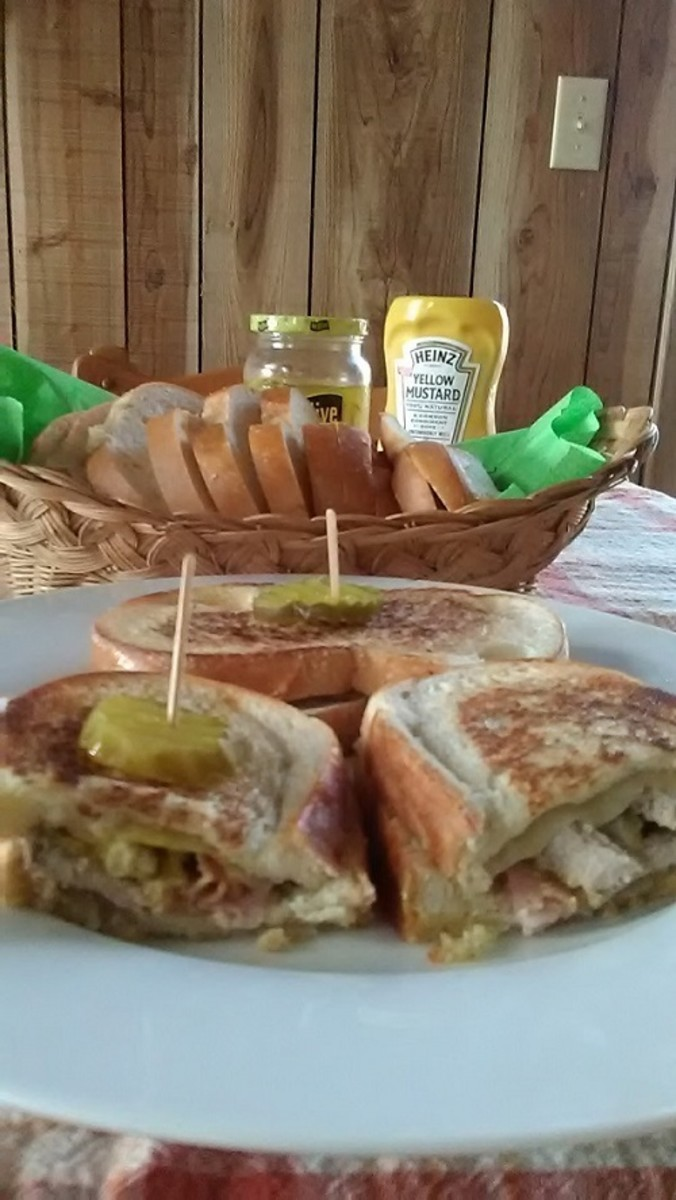 The Cubano, or Cuban sandwich, is a favorite in South Florida.