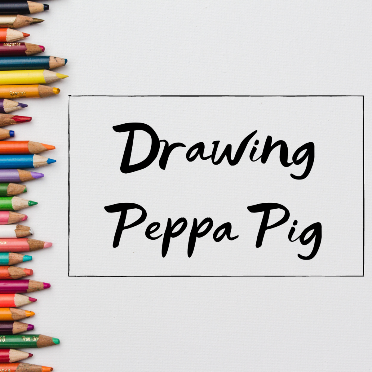 Learn how to draw Peppa Pig with this easy-to-follow, step-by-step guide!