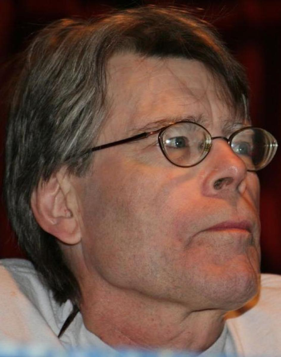 Stephen King is most certainly a real person, not a machine spitting out 90,000 word thrillers, because no mass media conglomerate would bother to fake an old guy in coke-bottle glasses.