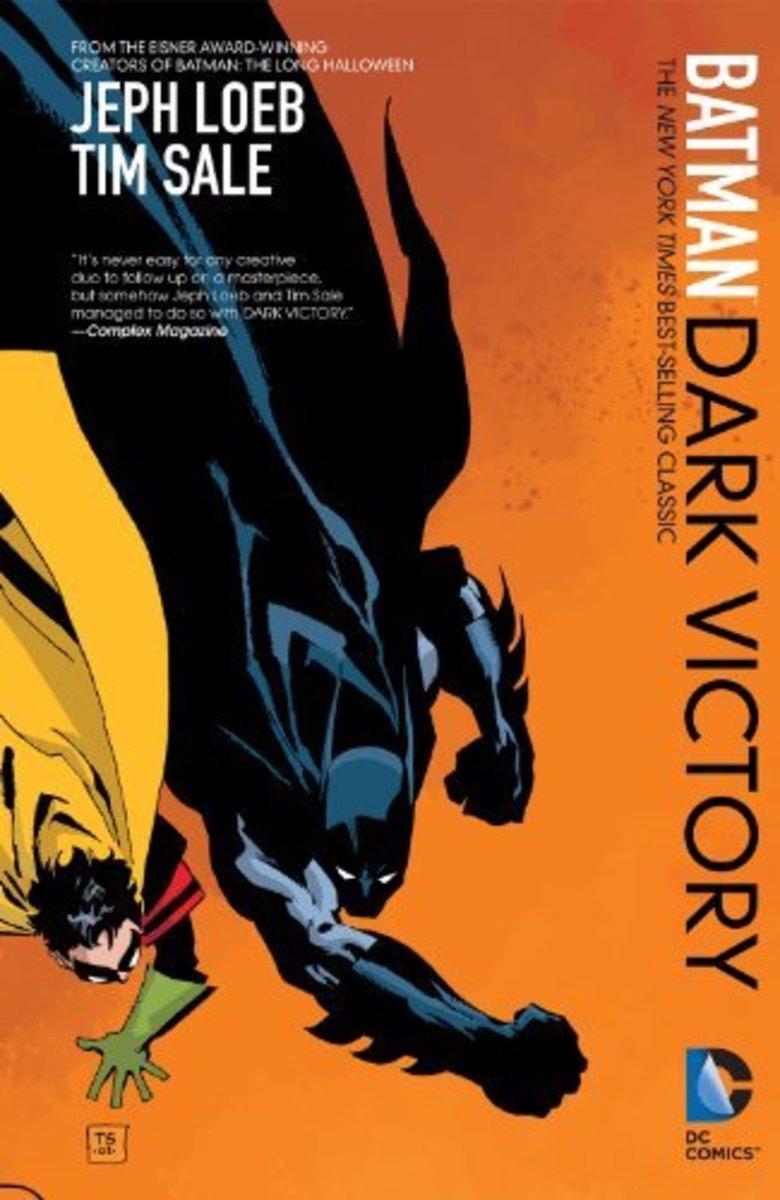 """Batman: Dark Victory"" new edition official artwork."