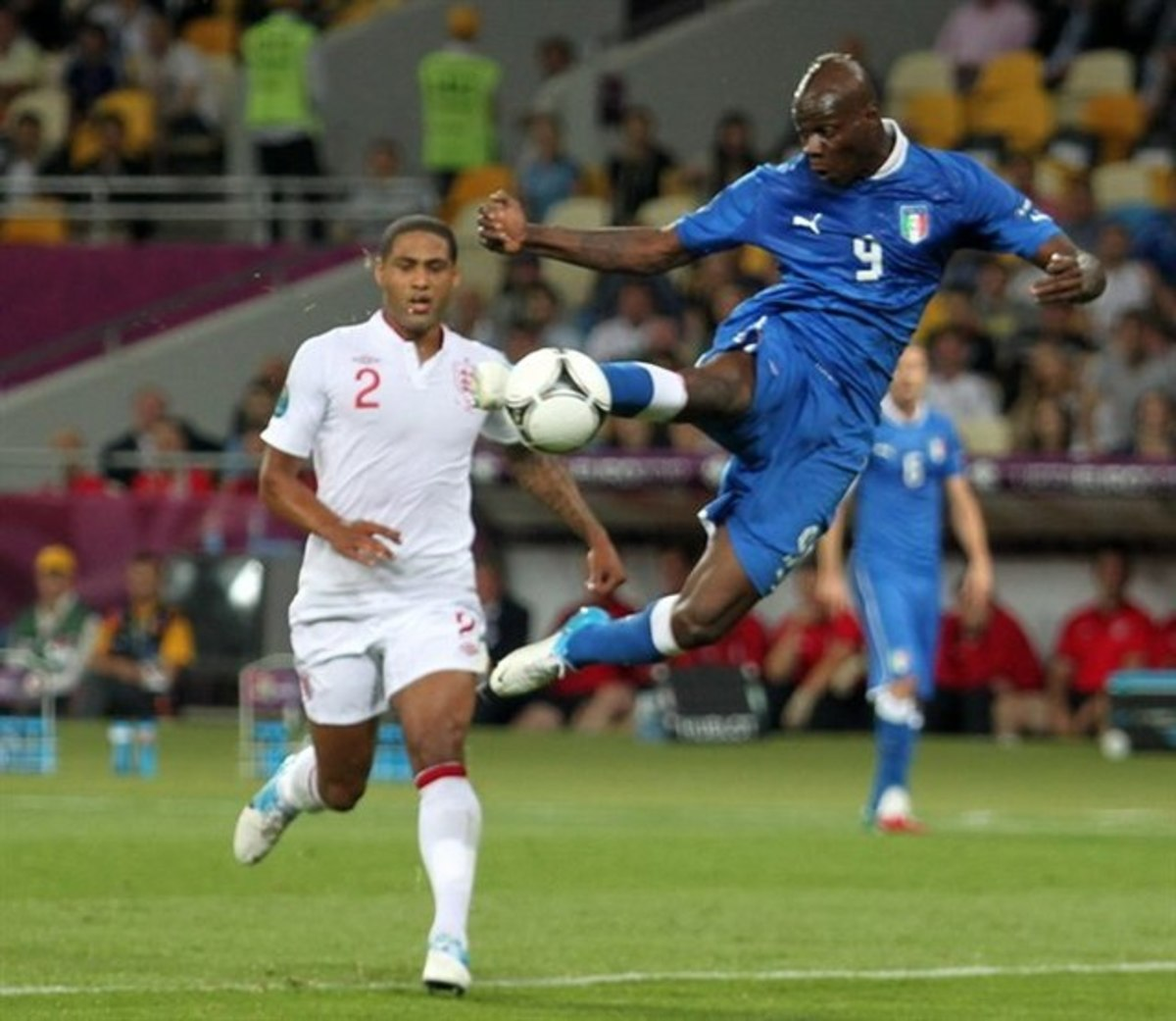 Image of Italy Vs England in Euro 2012.