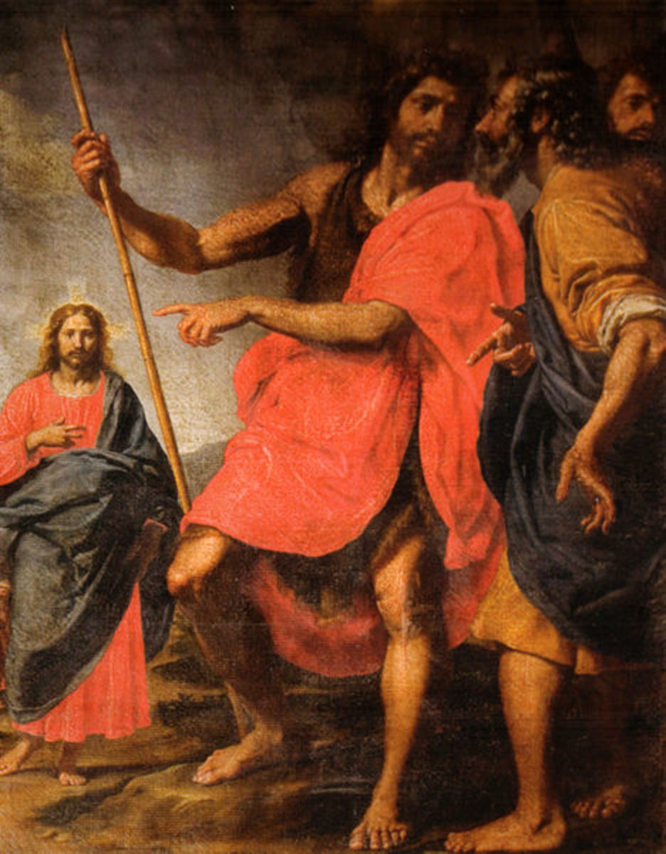 """The Calling of the Apostles Andrew and  Peter"" by Ottavio Vannini (17th c.)"
