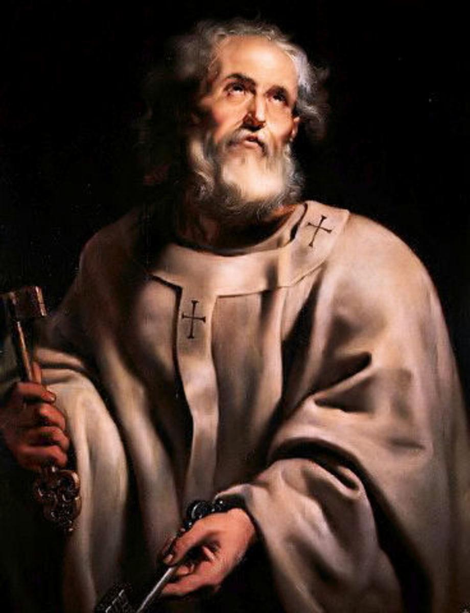Saint Peter by Peter Paul Rubens (1577-1640)