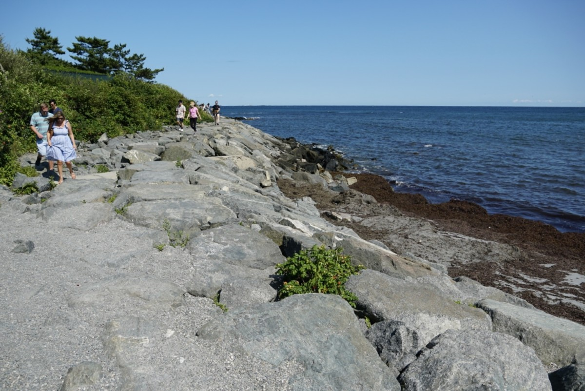 Boulder Section of the Cliff Walk