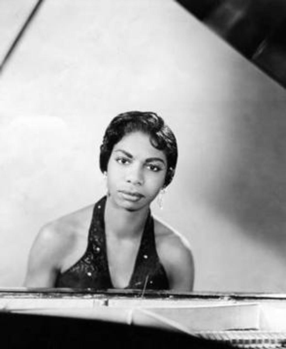 Nina Simone in her early years in 1959