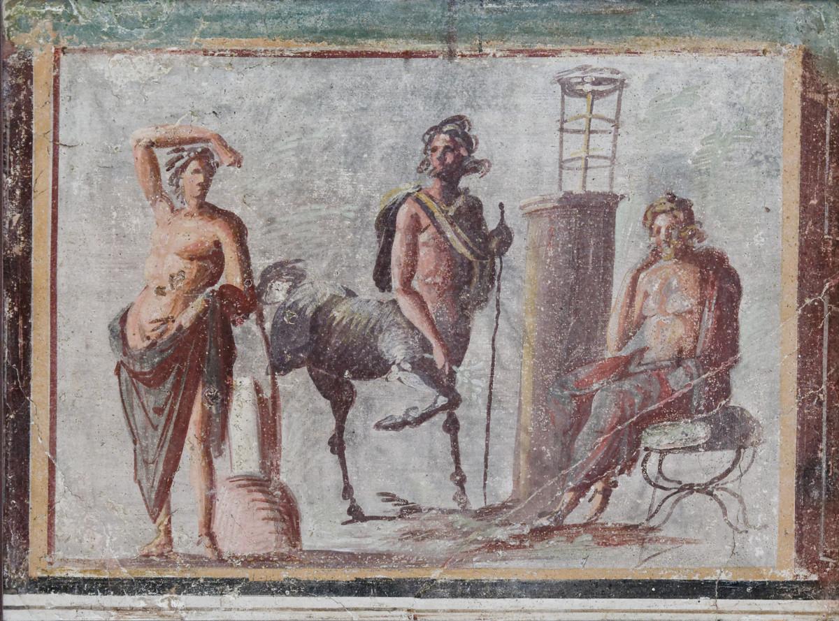 Fresco created 1st century AD