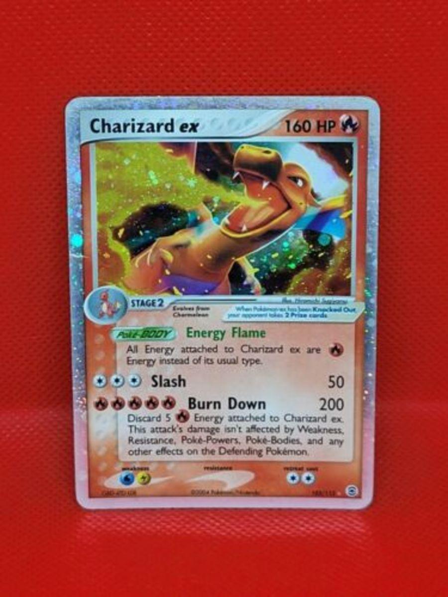 Charizard ex - 105/112 - Ultra-Rare