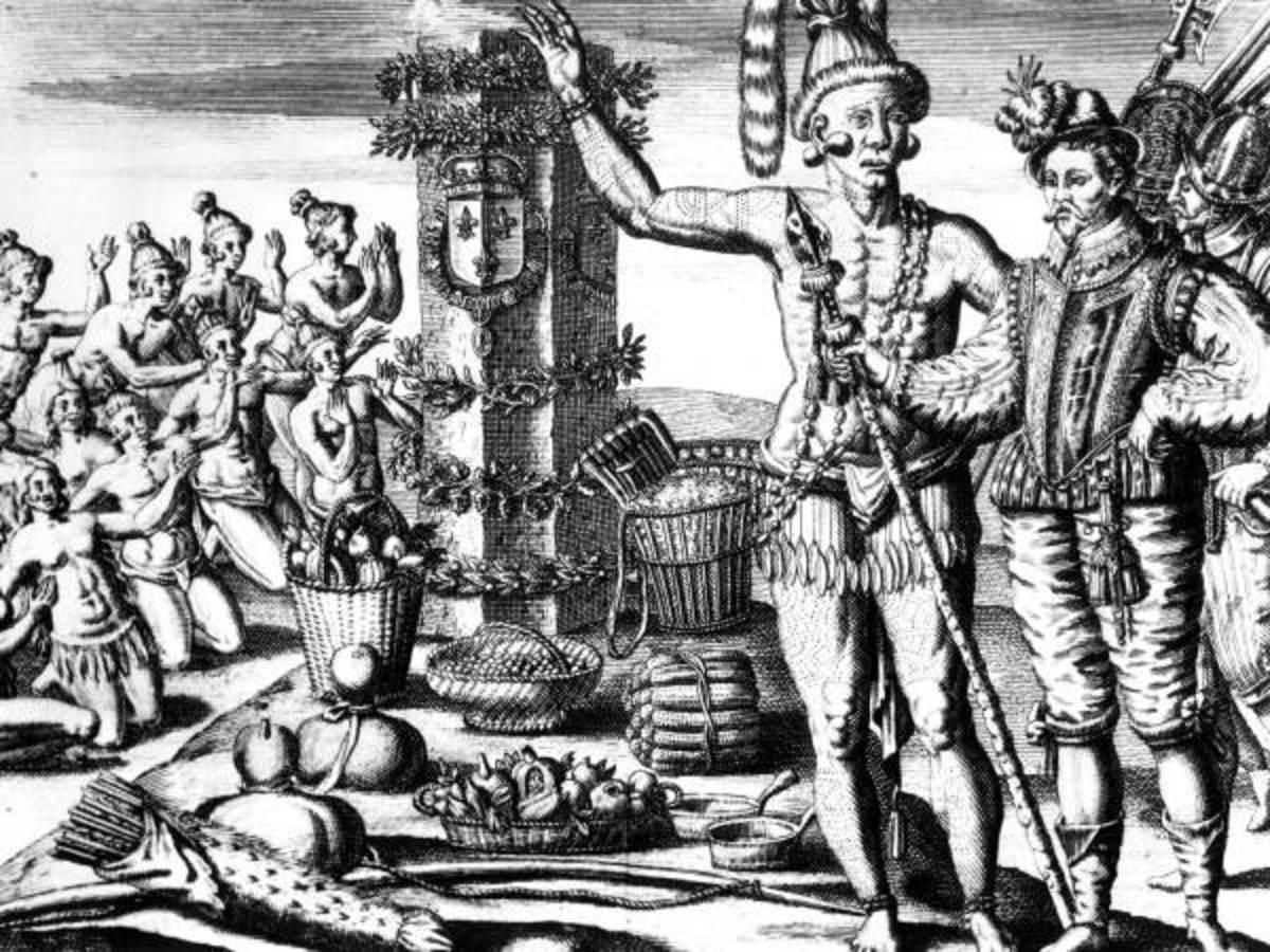 Timucua meet Menendez in 1565