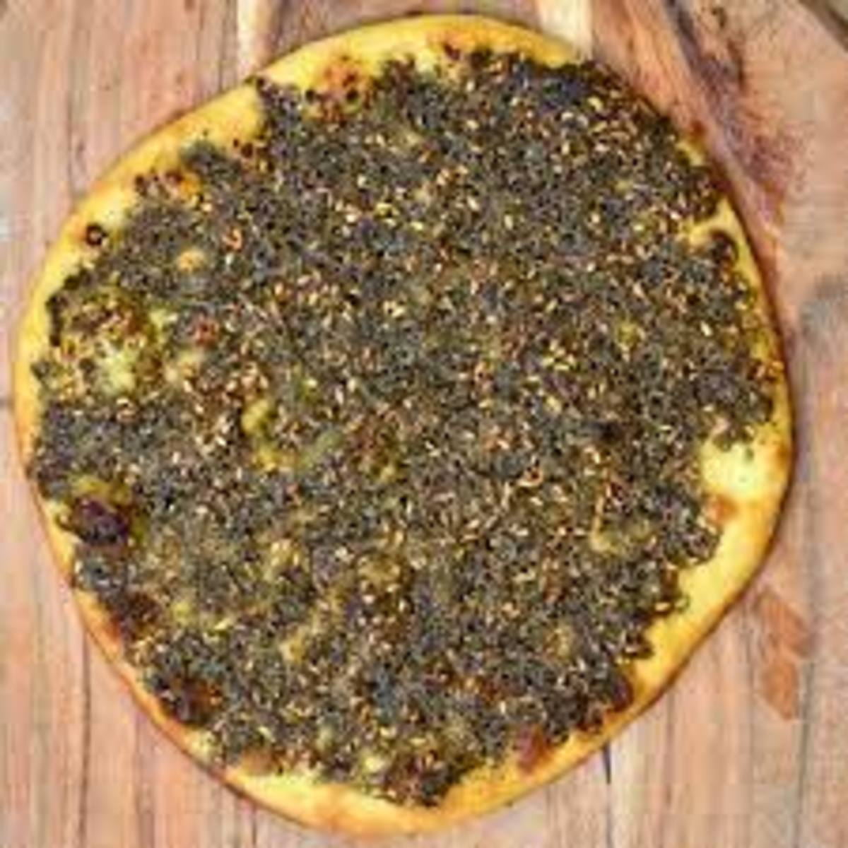 The aroma of freshly baked Za'atar bead is believe me so mouth-watering that you won't be able to resist.