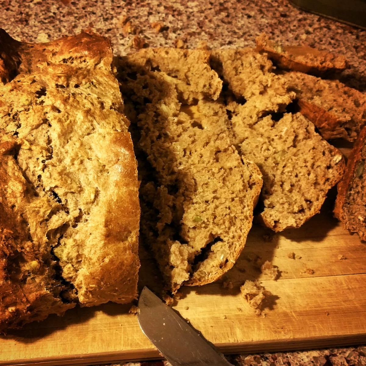 Making bread with whole food ingredients does wonders for the nutritional content, and therefore, for your waistline.