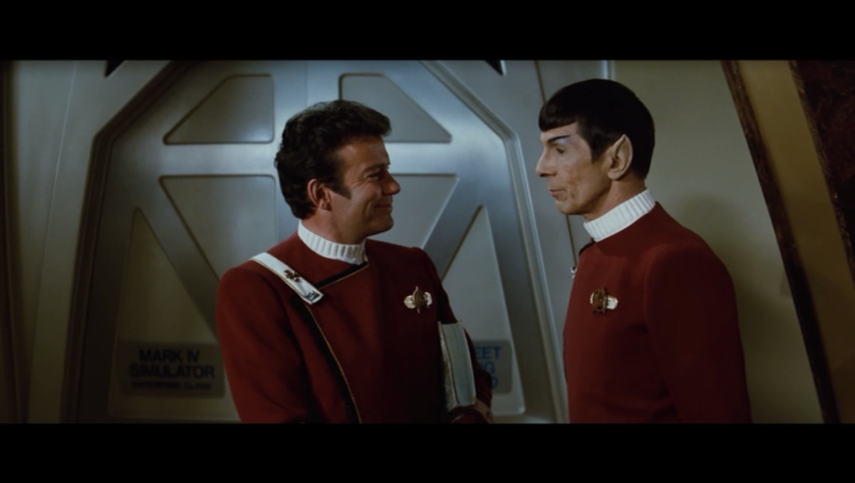 The film feels much more like the old Star Trek while the storyline works well to keeps things tense
