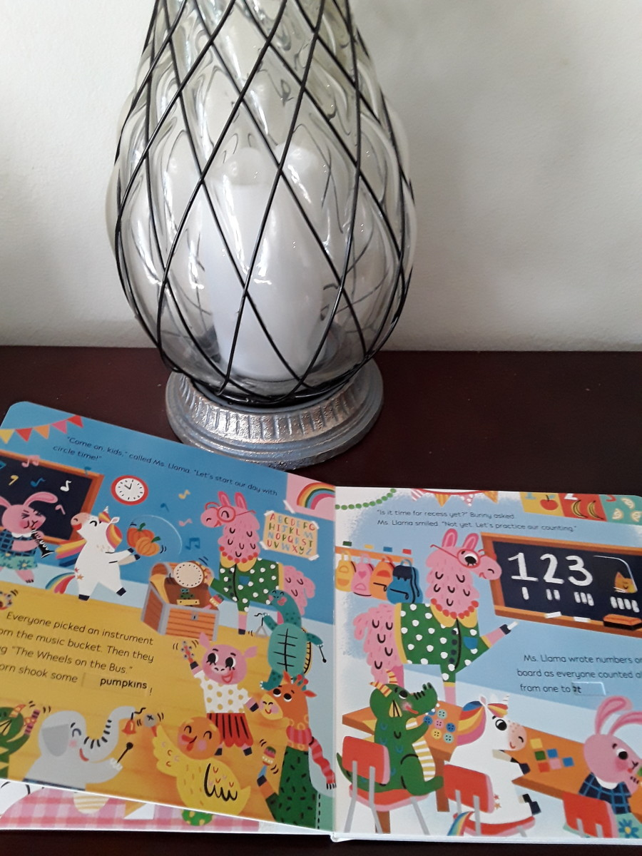 kindergarten-preparation-for-learning-what-the-day-will-be-like-in-colorful-picture-book