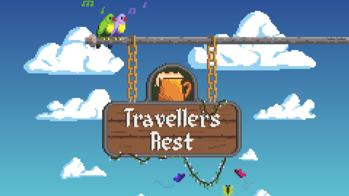 Travellers Rest is a great Stardew Valley-like game: rather than just running a farm, you also get to run an inn!