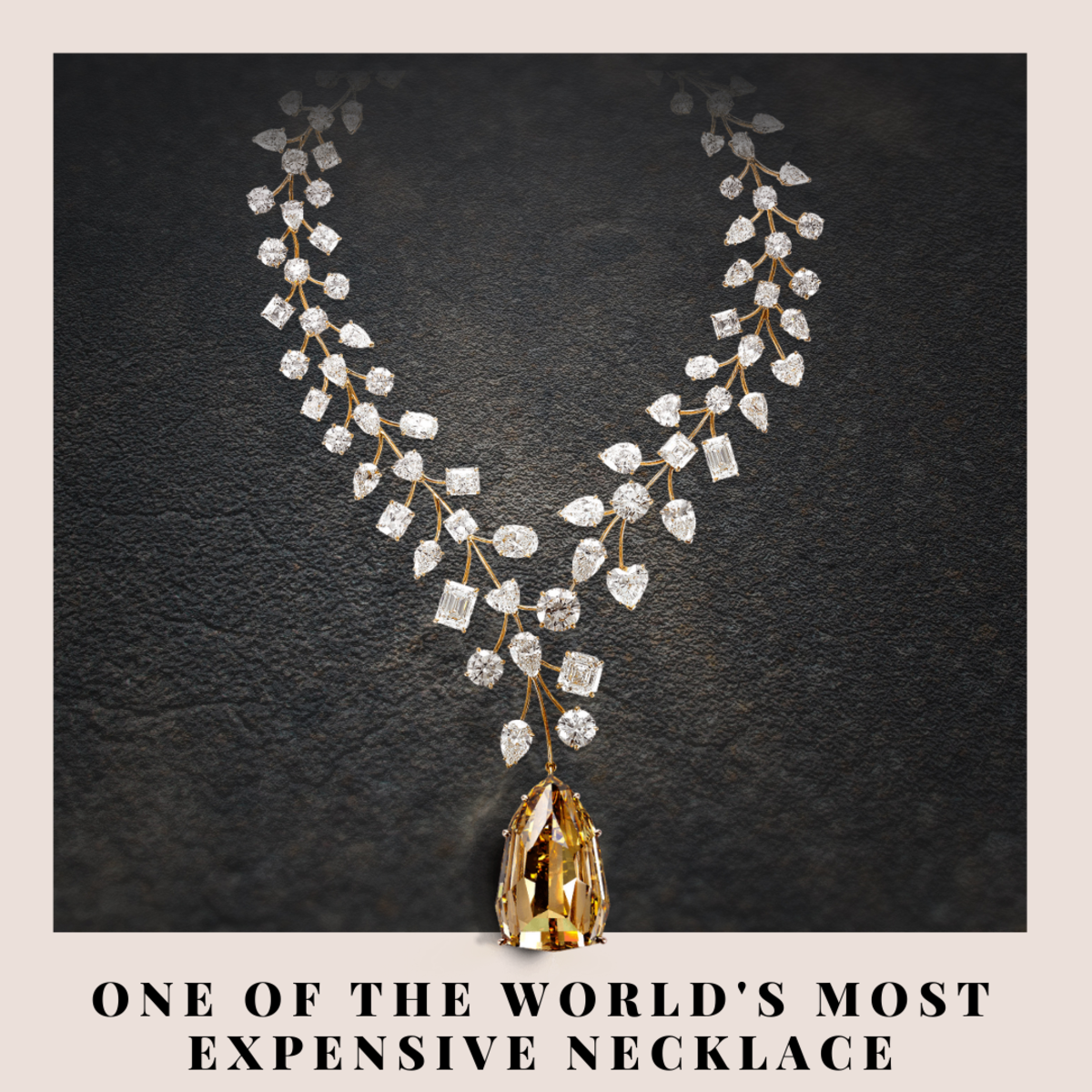 This stunning 637-carat L'Incomparable diamond necklace was sold for a record-breaking US$55 million in 2013 and at that time, was named the world's most expensive necklace by Guinness World Records