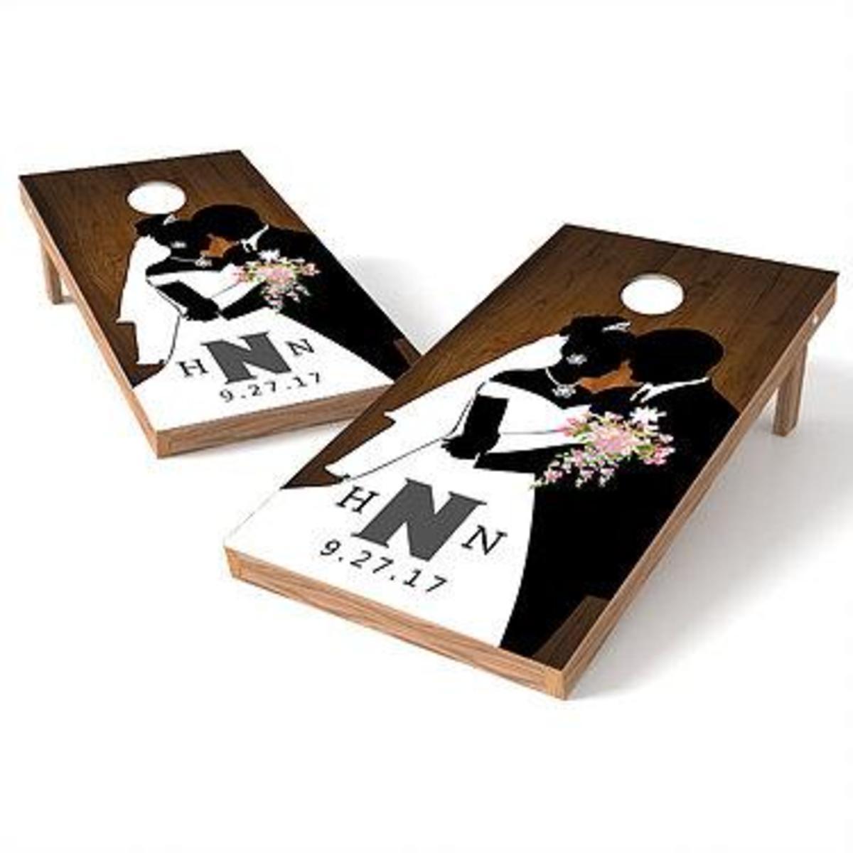 Wedding Cornhole Board
