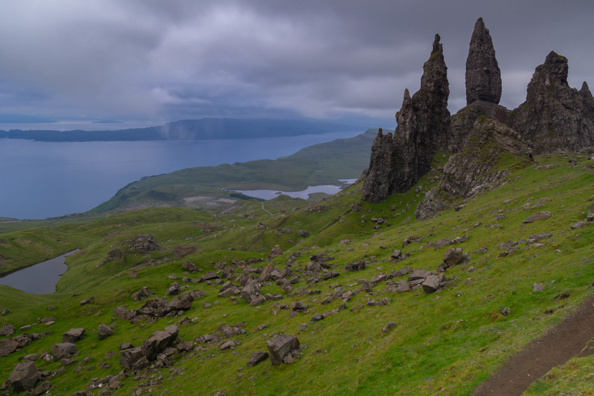 The Old Man at Storr, Isle of Skye