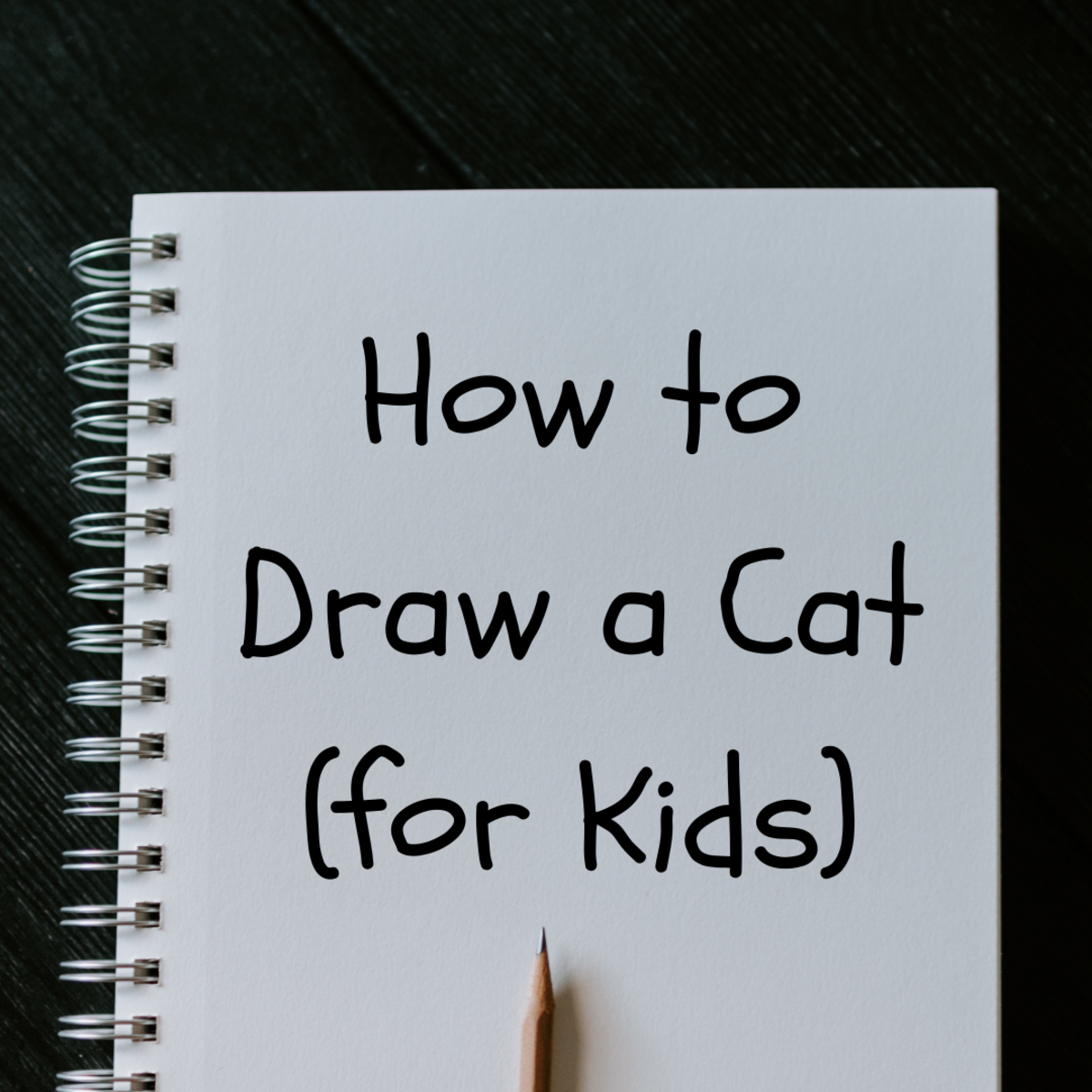 This article teaches you to draw a cat with simple, step-by-step instructions anyone can follow