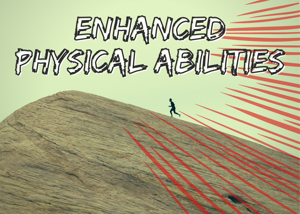 """""""Enhanced"""" usually means 3–5 times above typical human limits. This enhancement often comes from scientific, natural, or supernatural means. Abilities can include super strength, speed, healing, and enhanced senses, just to name a few."""