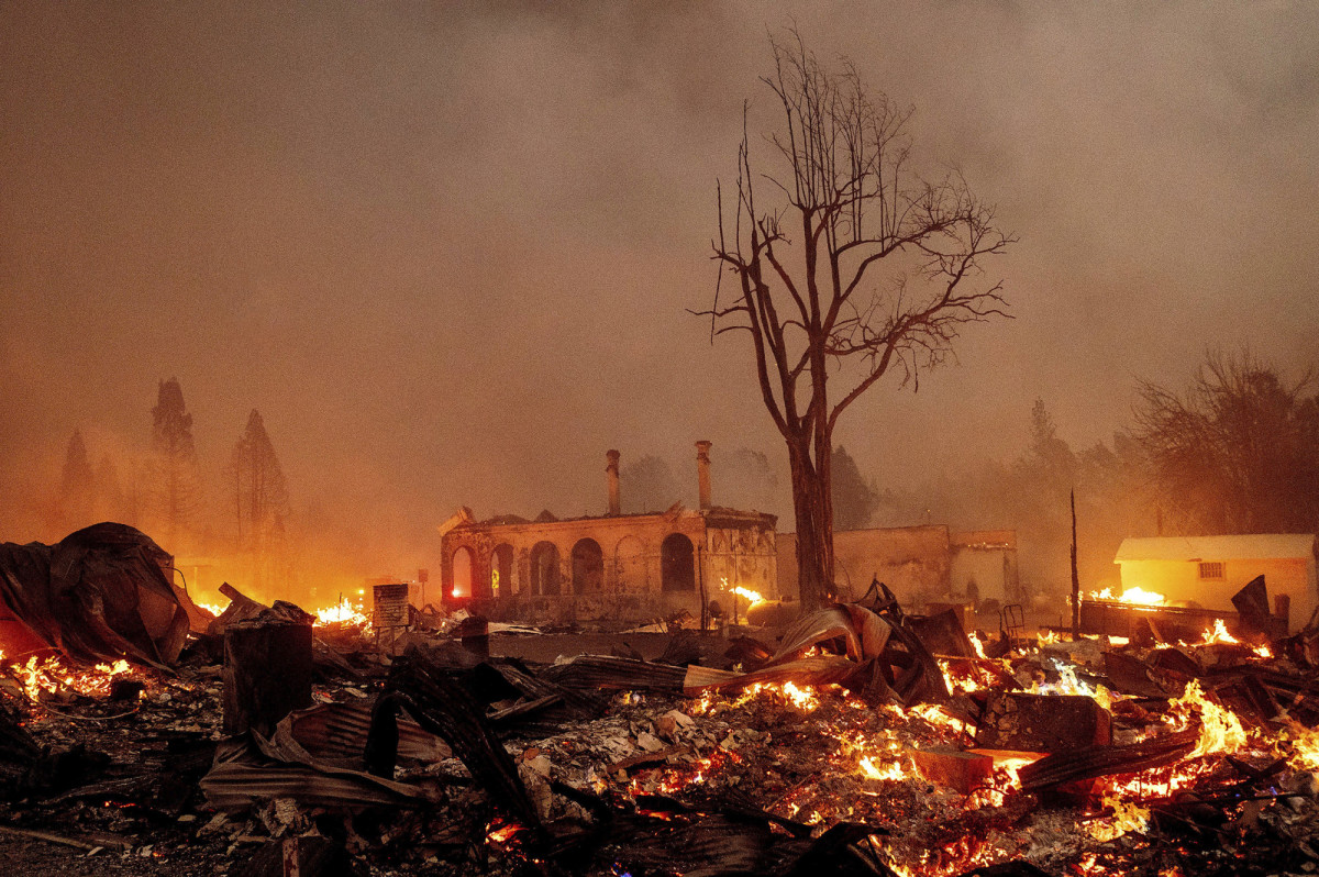 Plumas Co, California Fires