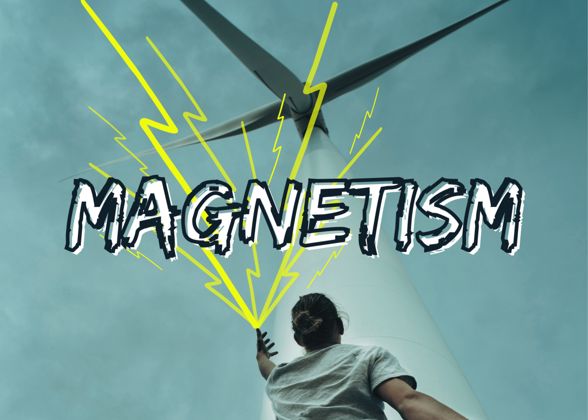 Magnetism is the ability to manipulate metallic elements by generating and controlling the magnetic field. A secondary power may be electricity, since the two are closely tied together.