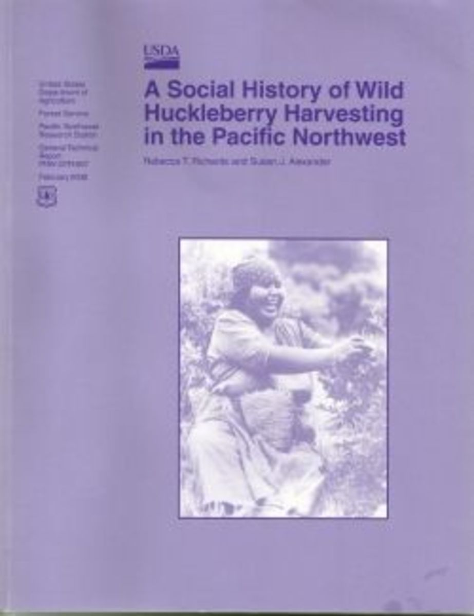 A Social History of Wild Huckleberry Havesting in the Pacific Northwest