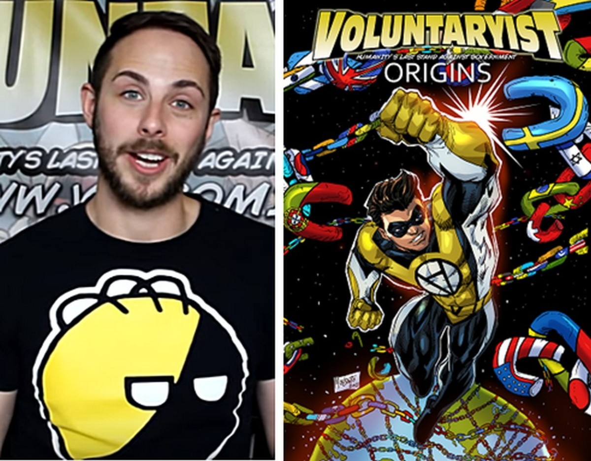 Interview: Jaime Sherman and his 'Voluntaryist' Superheroes