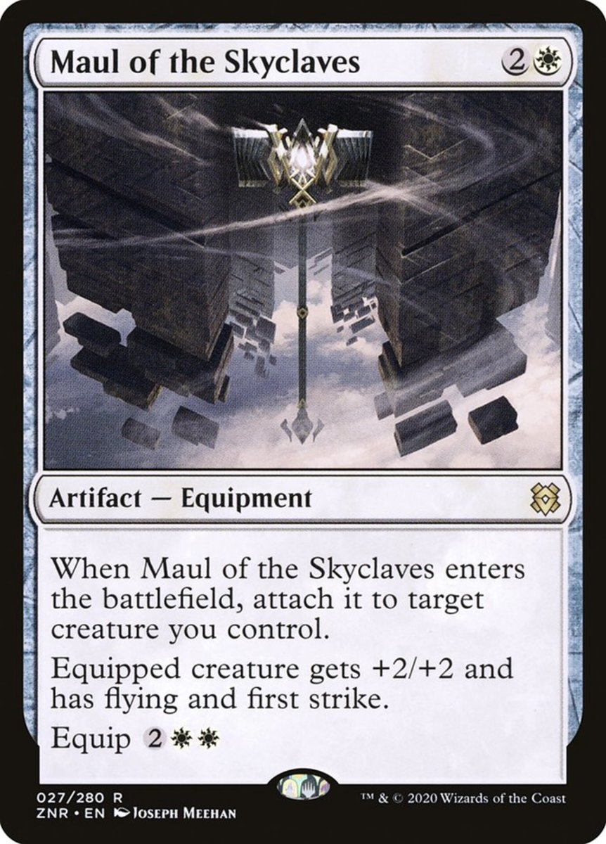 Maul of the Skyclaves mtg