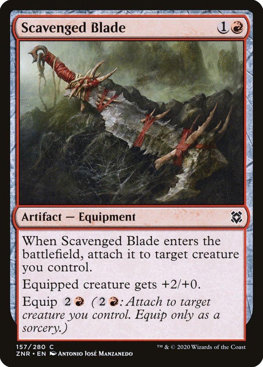 Scavenged Blade mtg