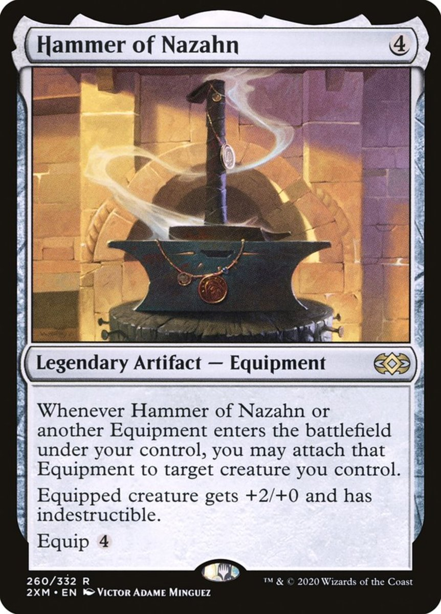 Hammer of Nazahn mtg