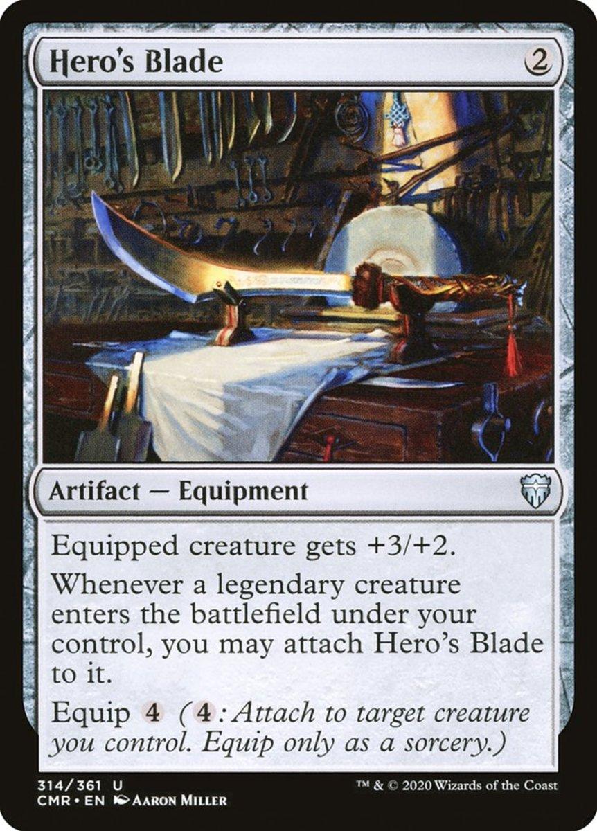 Hero's Blade mtg